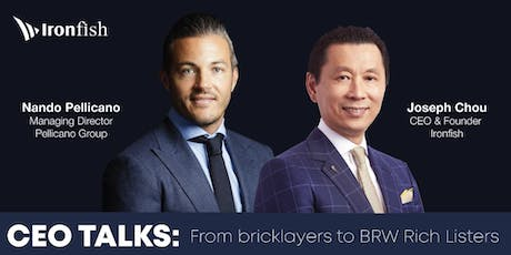 CEO Talks: From bricklayers to BRW Rich Listers tickets