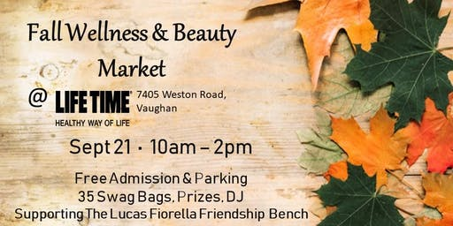 Fall Wellness & Beauty Market at Life Time Athletic in Woodbridge