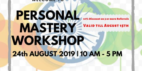 Personal Mastery Workshop tickets