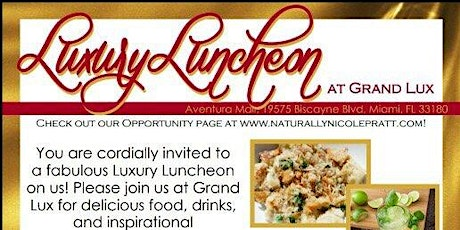 Luxury Luncheon (How to Build a Cosmetic Business) tickets