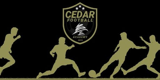 Cedar Football Academy FREE Introductory Session