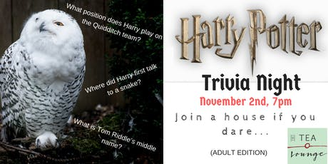 Harry Potter Trivia Night (v2.0) - Adult Edition tickets