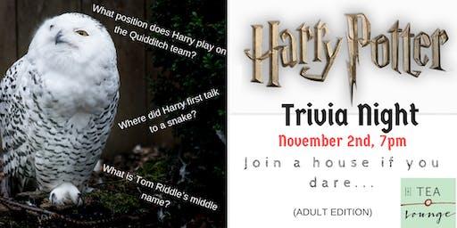 Harry Potter Trivia Night (v2.0) - Adult Edition