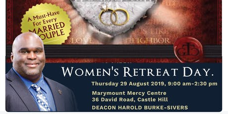 Women's Retreat Day with Deacon Harold - Castle Hill, 29th Aug 2019 tickets