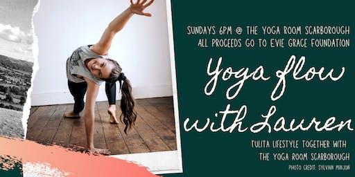 Yoga Flow with Lauren!