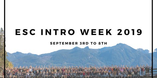 ESC Intro Week