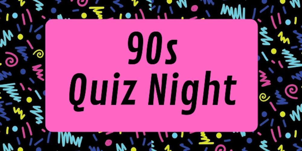 90s Quiz Night