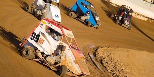Speedway Sprints, Dirt Karts, Pit Bikes Wheel2Wheel Raceway 8/24