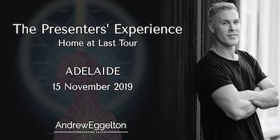 The Presenters' Experience - Adelaide
