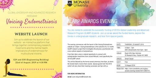 GLARP Awards Evening + Website Launch!