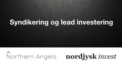 Northern Angels - Syndikering og lead investering