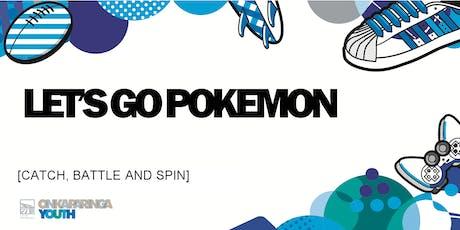 Let's Go Pokemon tickets