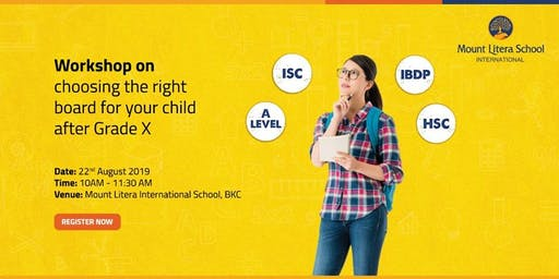 Choosing the right board for your child after grade X