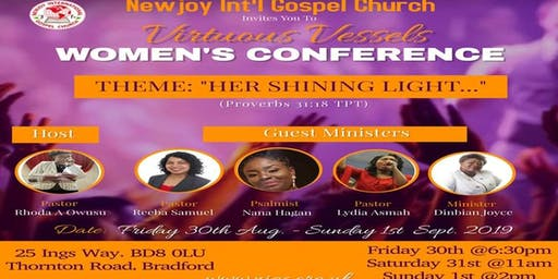 Virtuous Vessels Women's Conference 2019
