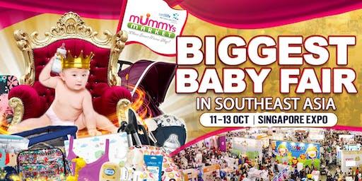 Baby Fair 2019 – Mummys Market - 11 To 13 Oct 2019 at Singapore Expo