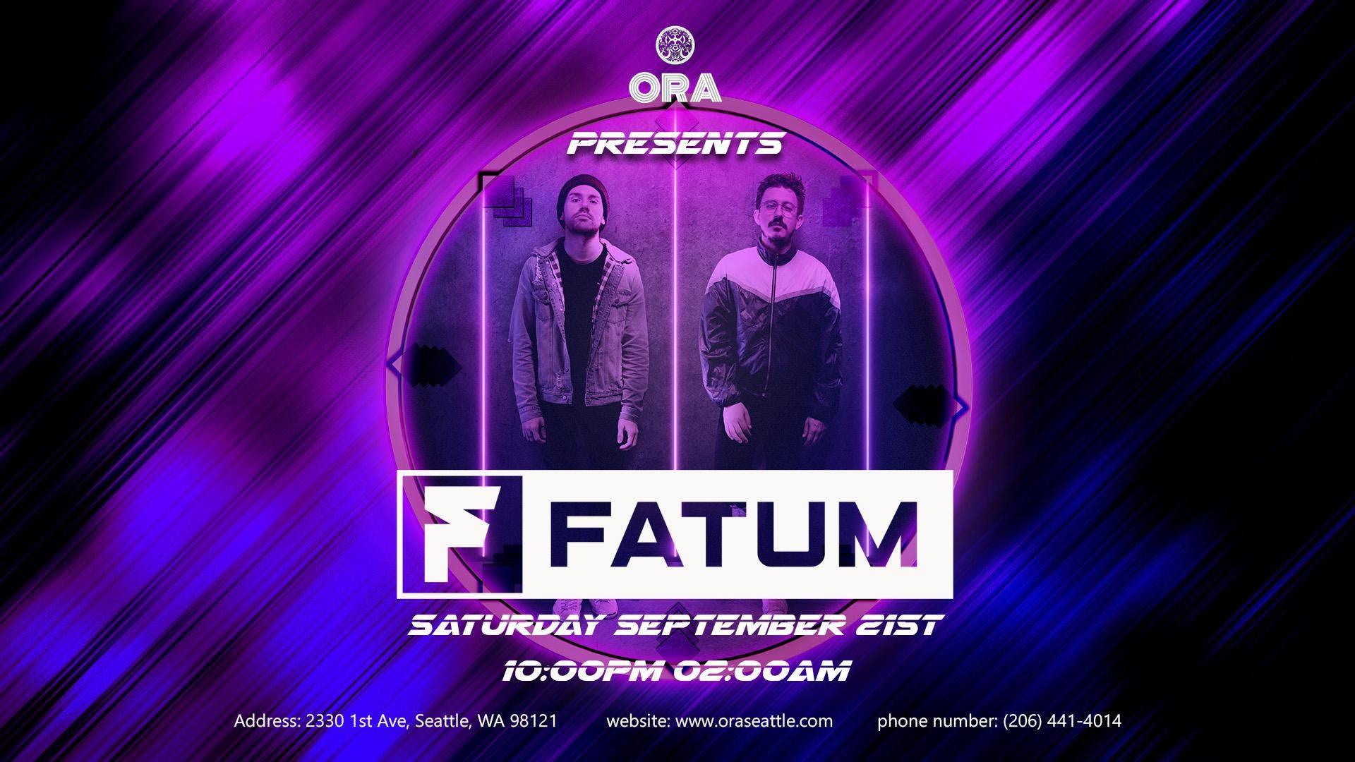 Fatum at Ora
