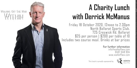 A Charity Lunch with Derrick McManus supporting Walking Off The War Within   tickets