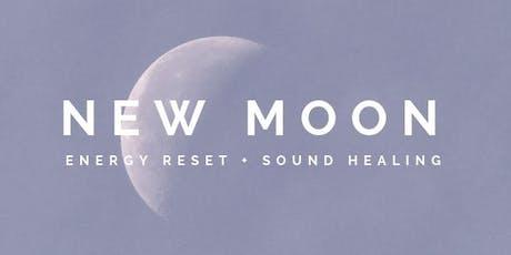 New Moon : Energy Reset + Sound Healing - ADELAIDE (September) tickets