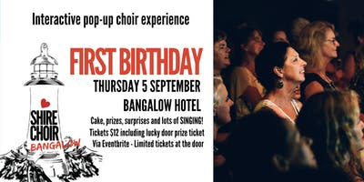 Shire Choir Bangalow - 1st Birthday September 2019