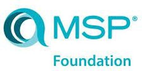 Managing Successful Programmes – MSP Foundation 2 Days Virtual LiveTraining in Singapore tickets