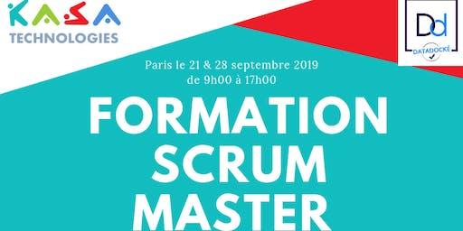 Formation Scrum Master les samedis 21 & 28 septembre à Paris