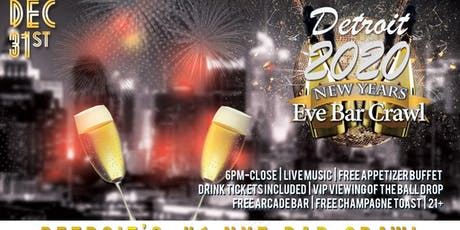 Detroit NYE Bar Crawl tickets