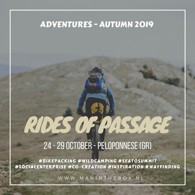 Rides of Passage - Peloponnese // 6 - Day Adventure