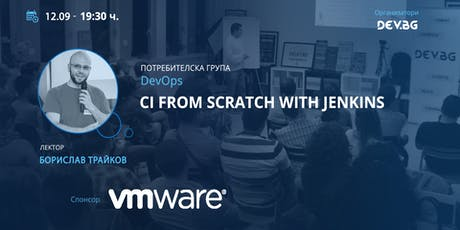 CI from scratch with Jenkins tickets