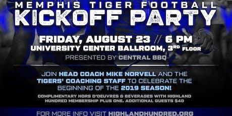 "Memphis Football ""Kickoff"" Party  tickets"