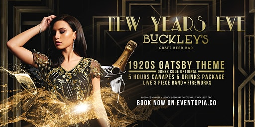 NEW YEARS EVE 2019 GATSBY STYLE
