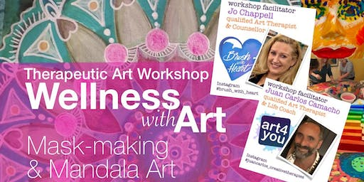 WELLNESS WITH ART [Therapeutic Art Workshop]