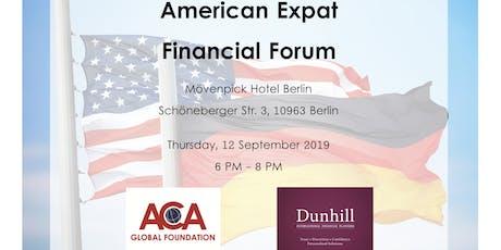 American Financial Forum - Berlin tickets