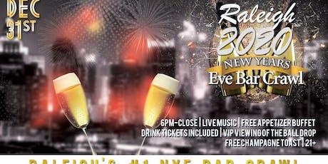 Raleigh NYE Bar Crawl tickets