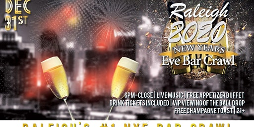 Raleigh NYE Bar Crawl
