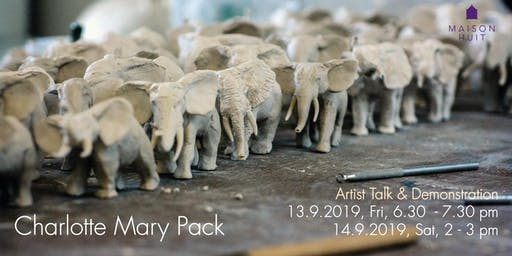 Artist Talk & Demonstration by Charlotte Mary Pack