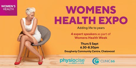 Women's Health Week Expo tickets