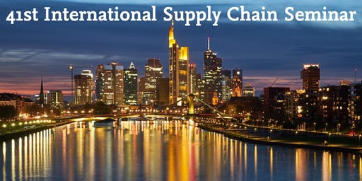 41st International Supply Chain Seminar 2019