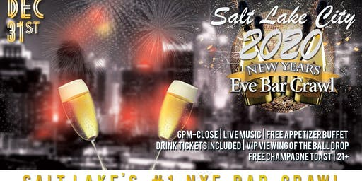 Salt Lake City NYE Bar Crawl