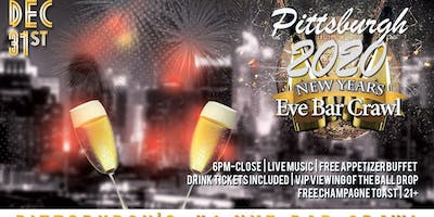 Pittsburgh NYE Bar Crawl