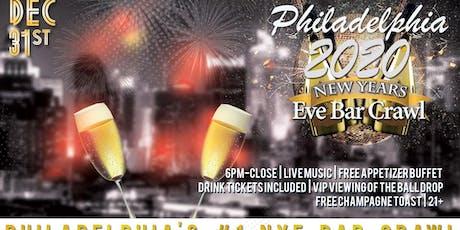 Philadelphia NYE Bar Crawl tickets