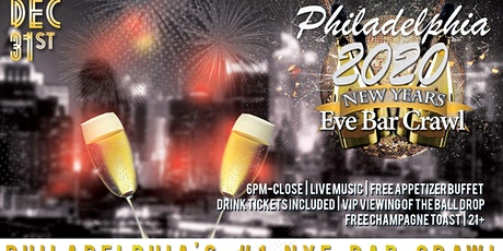 Philadelphia NYE Bar Crawl tickets