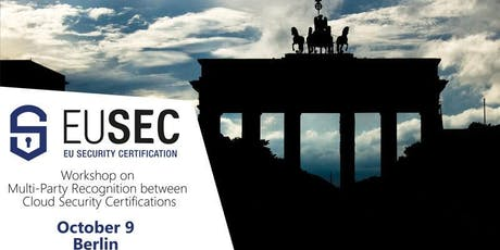 EU-SEC Workshop & Tutorial on Multi-Party Recognition in Berlin on 9th October 2019  tickets