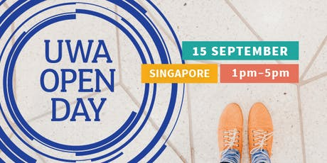 UWA Singapore Open Day tickets