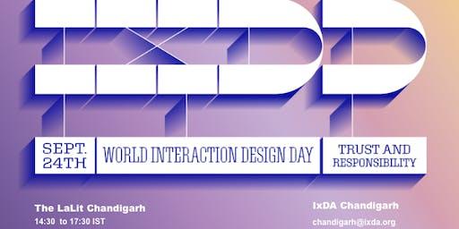 World Interaction Design Day (IXDD) - Chandigarh
