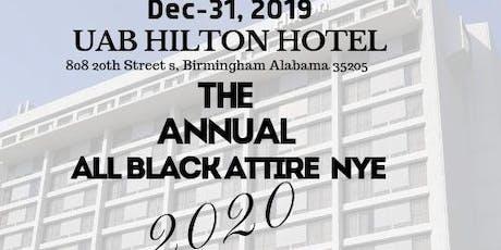 The Annual All Black Attire NYE 2020 tickets