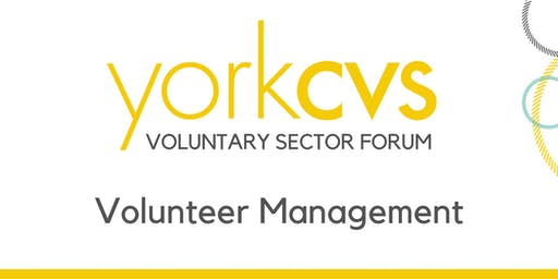 Voluntary Sector Forum - Volunteer Management