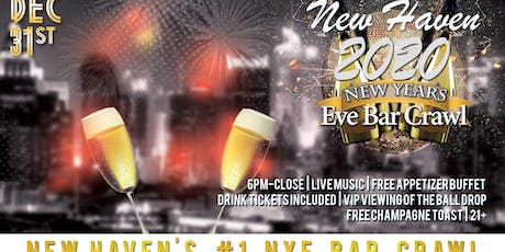 New Haven NYE Bar Crawl tickets