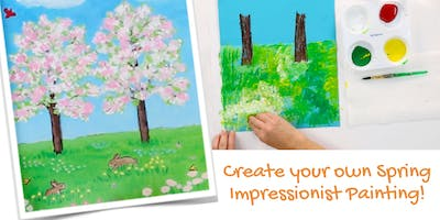 Create your own Spring Impressionist Painting!