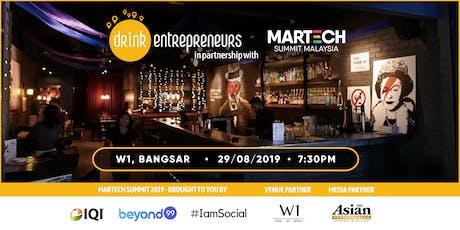 DrinkEntrepreneurs x MarTech Summit 2019 tickets
