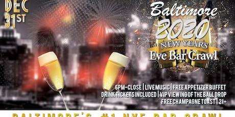 Baltimore NYE Bar Crawl tickets